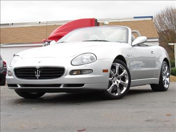 2005 Maserati Spyder for sale in Raleigh, NC