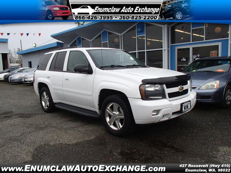 Chevrolet trailblazer for sale in washington for Clyde revord motors everett wa