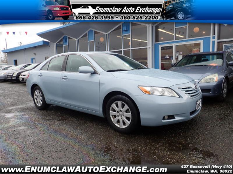 used 2007 toyota camry for sale in washington. Black Bedroom Furniture Sets. Home Design Ideas