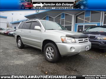 2004 Toyota Highlander for sale in Enumclaw, WA