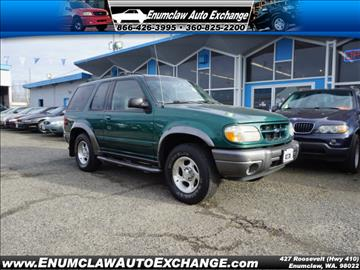 2000 Ford Explorer for sale in Enumclaw, WA