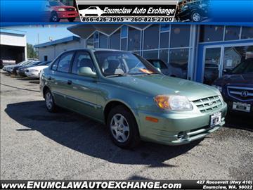 2004 Hyundai Accent for sale in Enumclaw, WA