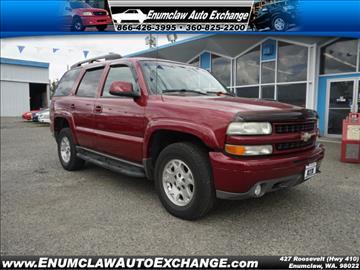 2004 Chevrolet Tahoe for sale in Enumclaw, WA