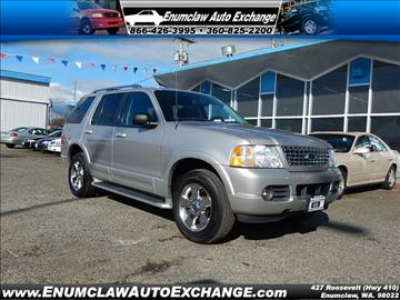 2003 Ford Explorer for sale in Enumclaw, WA