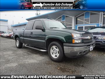 2005 Chevrolet Silverado 1500 for sale in Enumclaw, WA