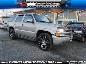 2006 Chevrolet Tahoe for sale in Enumclaw, WA