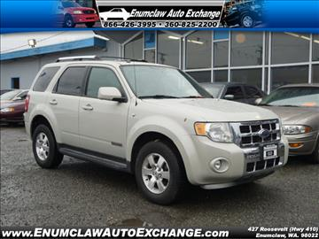 2008 Ford Escape for sale in Enumclaw, WA