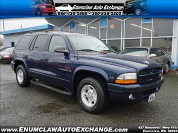 2000 Dodge Durango for sale in Enumclaw, WA