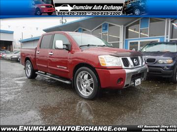 2005 Nissan Titan for sale in Enumclaw, WA
