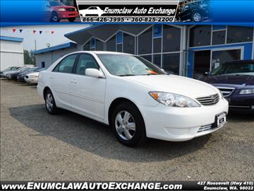 2005 Toyota Camry for sale in Enumclaw, WA