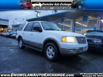 2003 Ford Expedition for sale in Enumclaw, WA