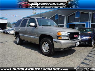 2003 GMC Yukon for sale in Enumclaw, WA