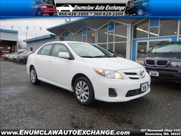 2012 Toyota Corolla for sale in Enumclaw, WA