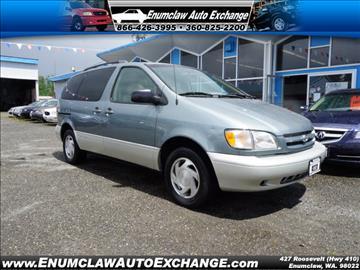 2000 Toyota Sienna for sale in Enumclaw, WA