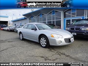 2004 Chrysler Sebring for sale in Enumclaw, WA