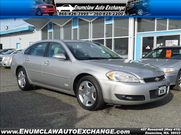 2008 Chevrolet Impala for sale in Enumclaw, WA