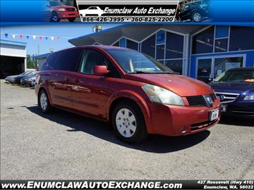 2004 Nissan Quest for sale in Enumclaw, WA