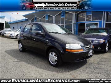 2007 Chevrolet Aveo for sale in Enumclaw, WA