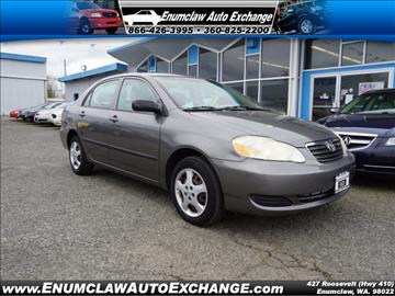 2007 Toyota Corolla for sale in Enumclaw, WA