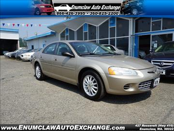 2002 Chrysler Sebring for sale in Enumclaw, WA