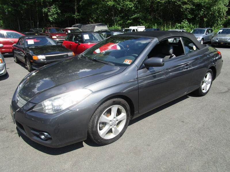 2008 toyota camry solara sle v6 2dr convertible 5a in ledgewood nj bloom auto. Black Bedroom Furniture Sets. Home Design Ideas
