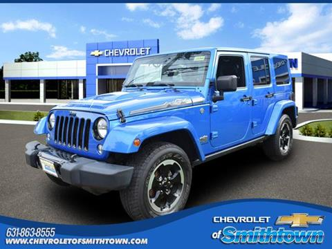 2014 Jeep Wrangler Unlimited for sale in Saint James, NY