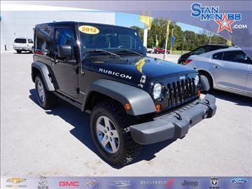 2012 Jeep Wrangler for sale in Tullahoma, TN