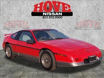1986 Pontiac Fiero for sale in Bradley, IL