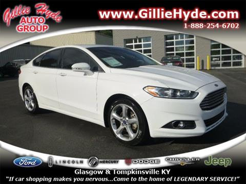 2013 Ford Fusion for sale in Glasgow, KY