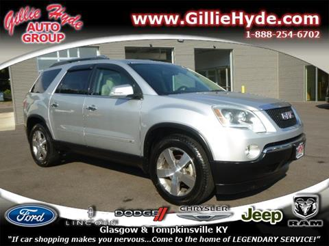 2010 GMC Acadia for sale in Glasgow, KY