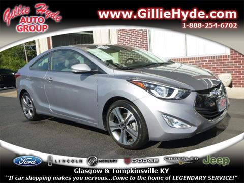 2014 Hyundai Elantra Coupe for sale in Glasgow, KY