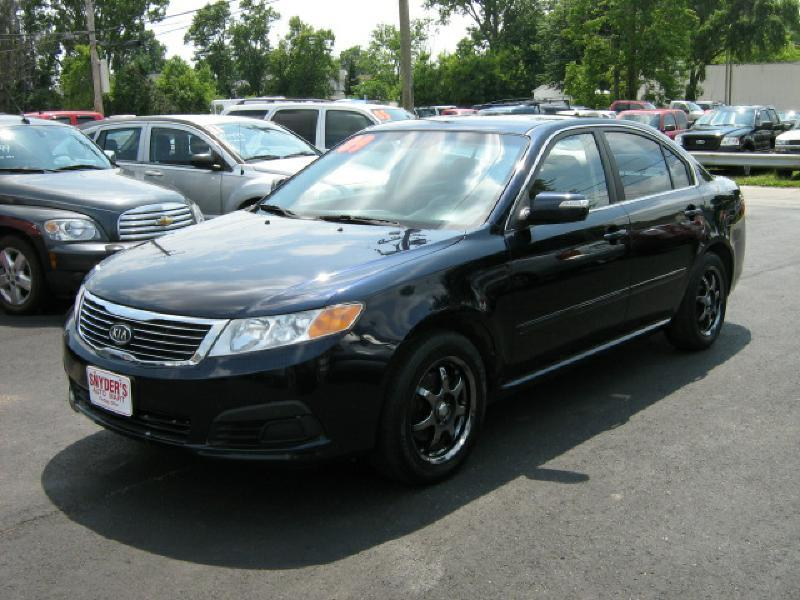 2009 Kia Optima LX 4dr Sedan (I4 5M) - Findlay OH