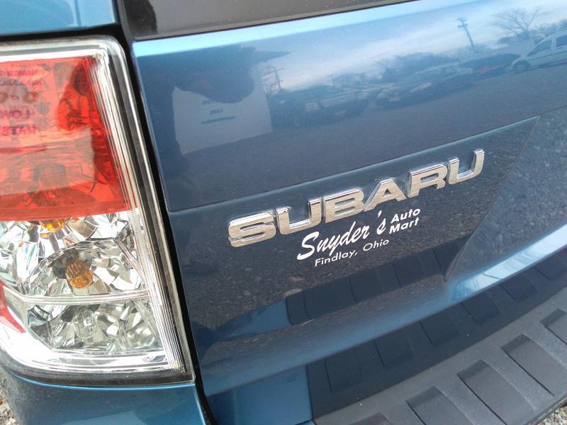 2009 Subaru Forester AWD 2.5 X 4dr Wagon 5M - Findlay OH