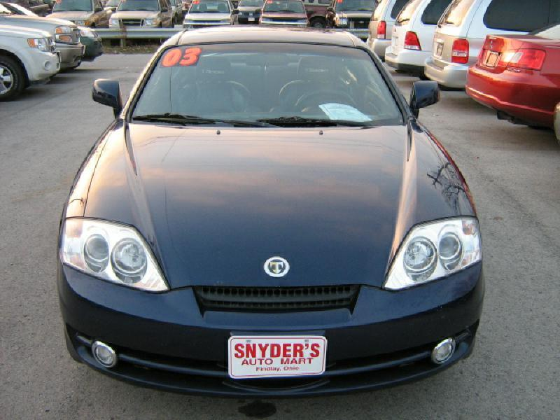 2003 Hyundai Tiburon GT V6 2dr Hatchback - Findlay OH