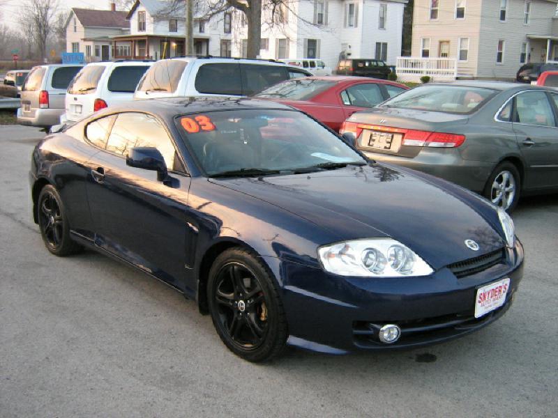 2003 hyundai tiburon gt v6 2dr hatchback in findlay oh snyder 39 s auto mart inc. Black Bedroom Furniture Sets. Home Design Ideas