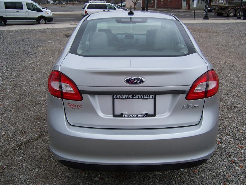 2012 Ford Fiesta S 4dr Sedan - Findlay OH