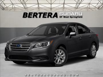 2017 Subaru Legacy for sale in West Springfield, MA