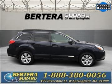 2012 Subaru Outback for sale in West Springfield, MA