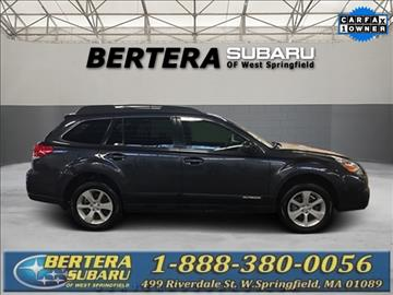 2013 Subaru Outback for sale in West Springfield, MA