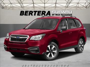 2017 Subaru Forester for sale in West Springfield, MA