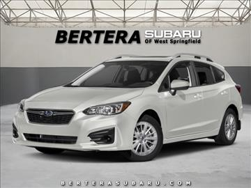 2017 Subaru Impreza for sale in West Springfield, MA