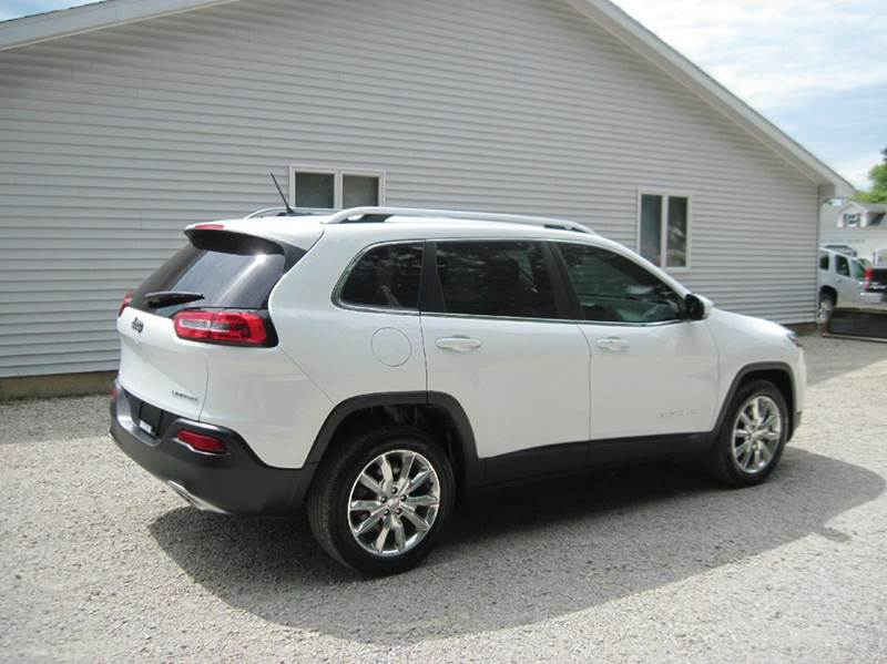 2015 jeep cherokee limited 4dr suv in shelbyville il for Grabb motors shelbyville il