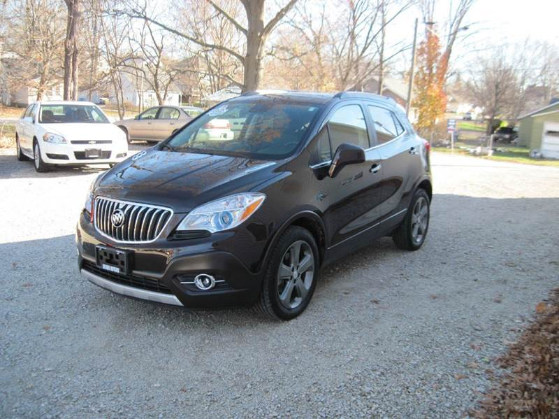 2013 buick encore leather 4dr crossover in shelbyville il for Grabb motors shelbyville il