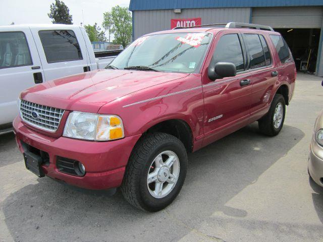 2005 FORD EXPLORER XLT 4WD 4DR SUV red we take trade-ins of all shapes and sizes paid for or not