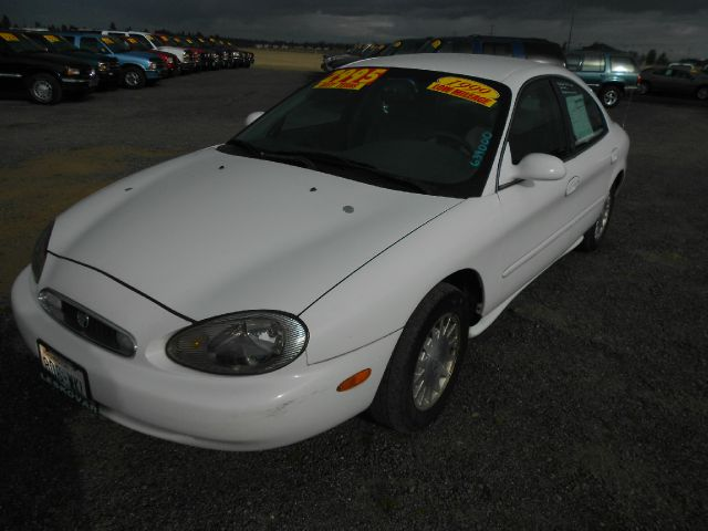 1999 MERCURY SABLE GS white we take trade-ins of all shapes and sizes paid for or not we finance