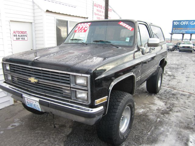 1984 CHEVROLET BLAZER 4WD black we take trade-ins of all shapes and sizes paid for or not we fin