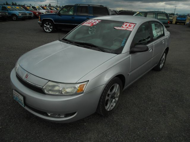2003 SATURN ION SEDAN 3 silver we take trade-ins of all shapes and sizes paid for or not we fina