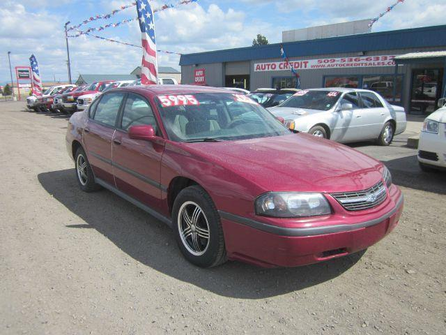 2005 CHEVROLET IMPALA BASE 4DR SEDAN maroon we take trade-ins of all shapes and sizes paid for or