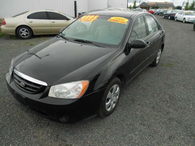 2006 KIA SPECTRA EX black we take trade-ins of all shapes and sizes paid for or not we finance