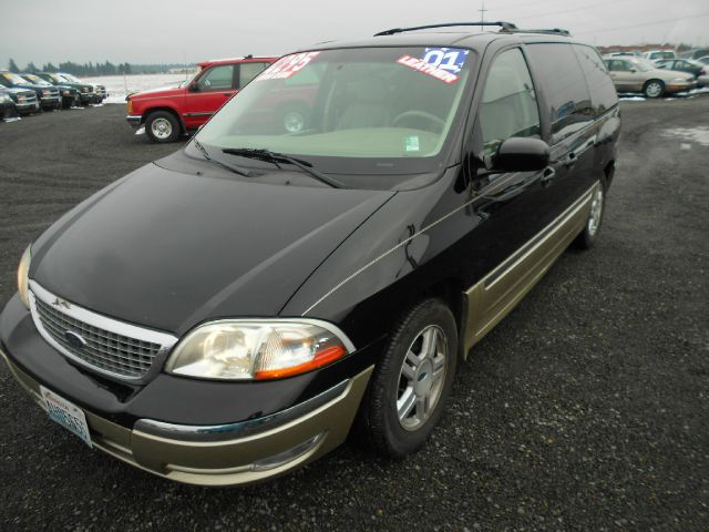 2001 FORD WINDSTAR SEL black we take trade-ins of all shapes and sizes paid for or not we financ